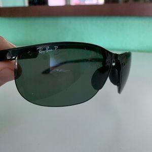 Ray Ban RB 4065 lightweight polarized sunglasses